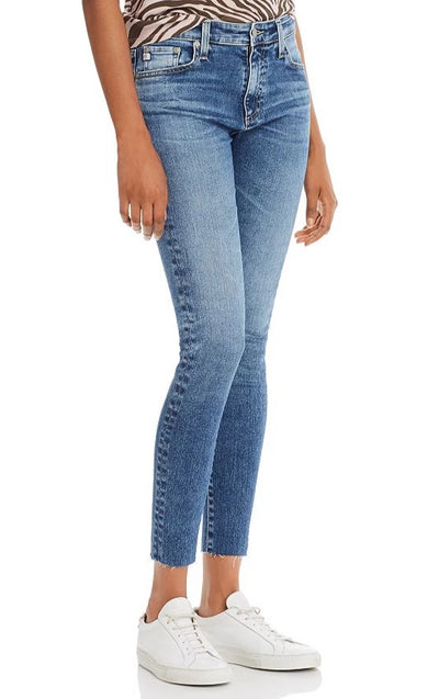 AG Farrah Skinny Ankle in 12 years Fluid / EQUATION Boutique