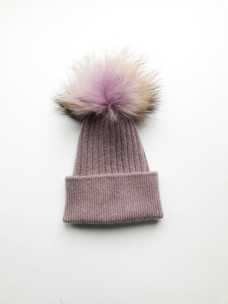 Equation Elliott Hat in Lavender w/ Lavender pom / EQUATION Boutique