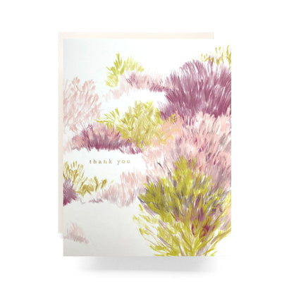 Antiquaria - Heathered Thank You Box Of 6 Card / EQUATION Boutique