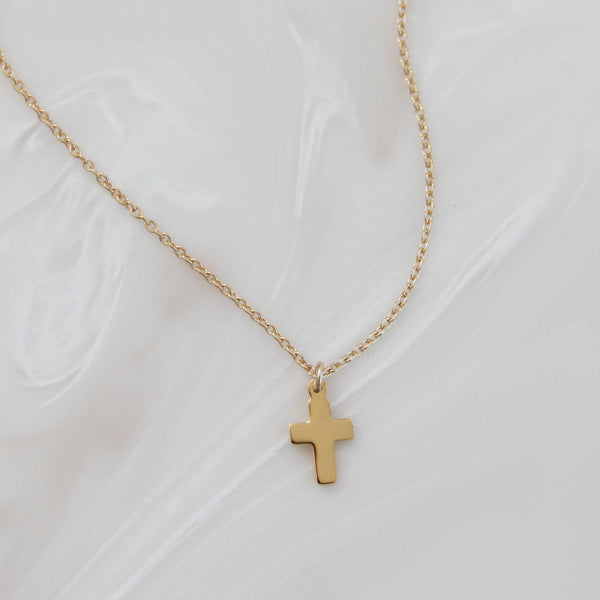 MAIVE - Cross Necklace-Silver