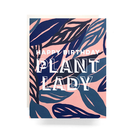 Antiquaria - Plant Lady Birthday Greeting Card / EQUATION Boutique