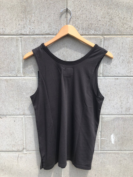Chaser Side Slit Tank in Black / EQUATION Boutique