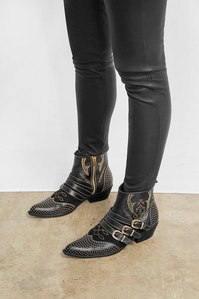 Anine Bing Penny Boots-Black / EQUATION Boutique