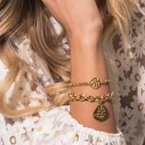 Tess + Tricia Luxe Frond Bracelet / EQUATION Boutique