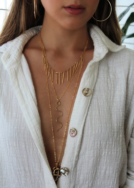 Jessica Matrasko Louis Necklace / EQUATION Boutique