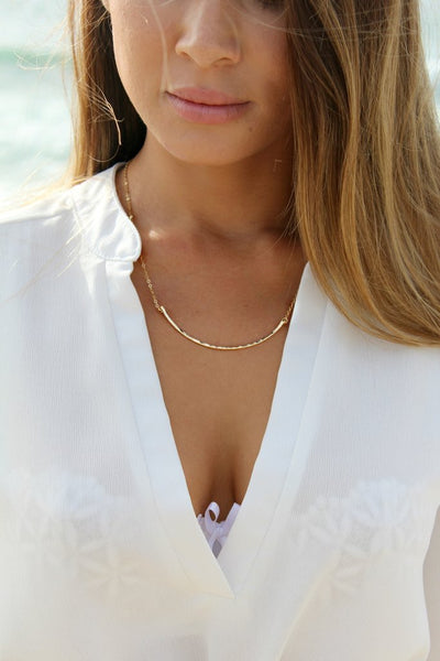 Jessica Matrasko Happiness Necklace / EQUATION Boutique