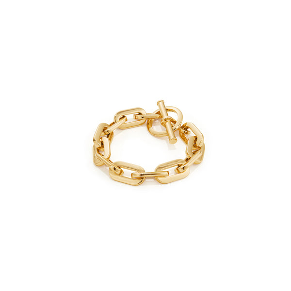 Jenny Bird Toni Thick Chain Bracelet-Gold