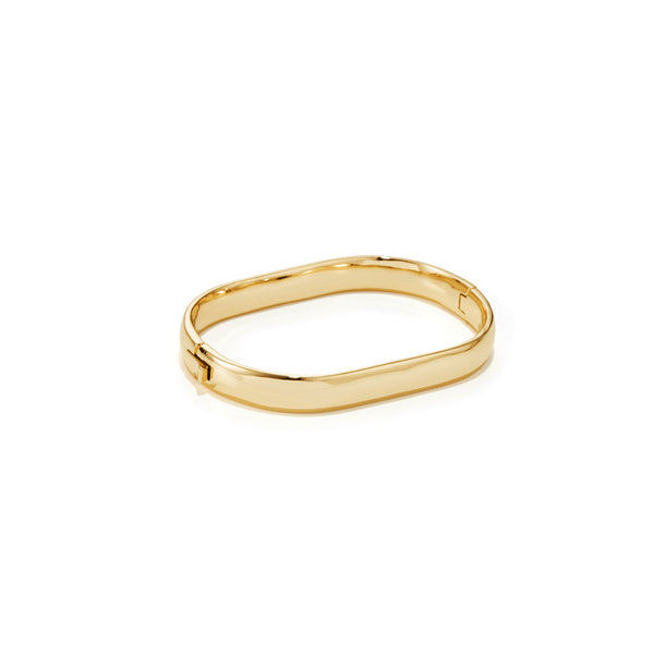 Jenny Bird Stevie Bangle - Gold
