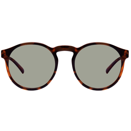 Le Specs Cubanos Sunglasses in Milky Tort (Polarized) / EQUATION Boutique