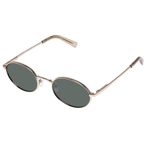 Le Specs Poseidon Sunglasses in Gold (Polarized) / EQUATION Boutique