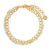Tess+ Tricia Lucia Bracelet - Aqua / EQUATION Boutique