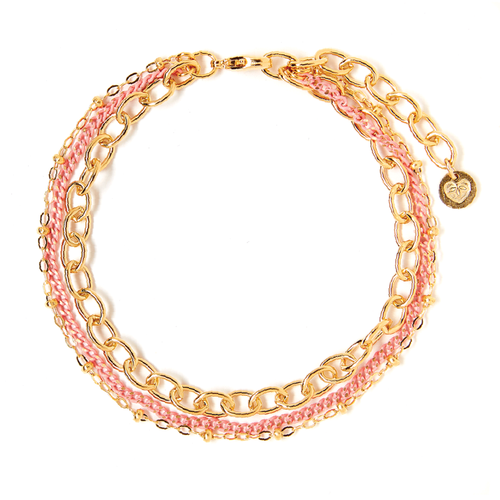 Tess+ Tricia Lucia Bracelet - Peach / EQUATION Boutique