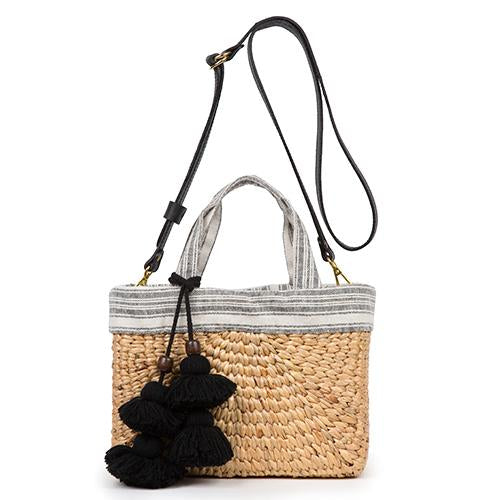 JadeTribe Sabai Mini Square Basket Bag / EQUATION Boutique