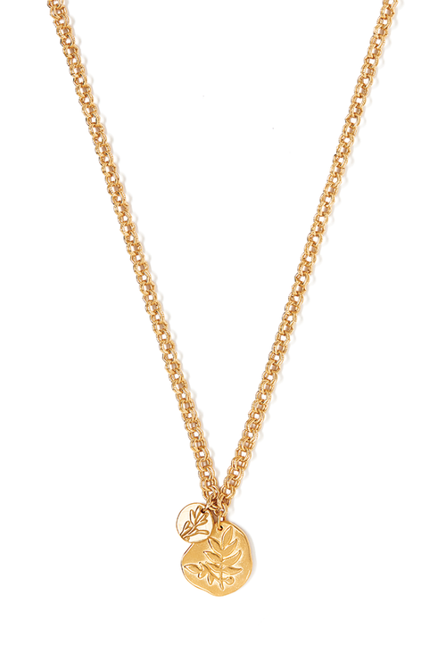 Tess + Tricia Bloom Long Frond necklace / EQUATION Boutique