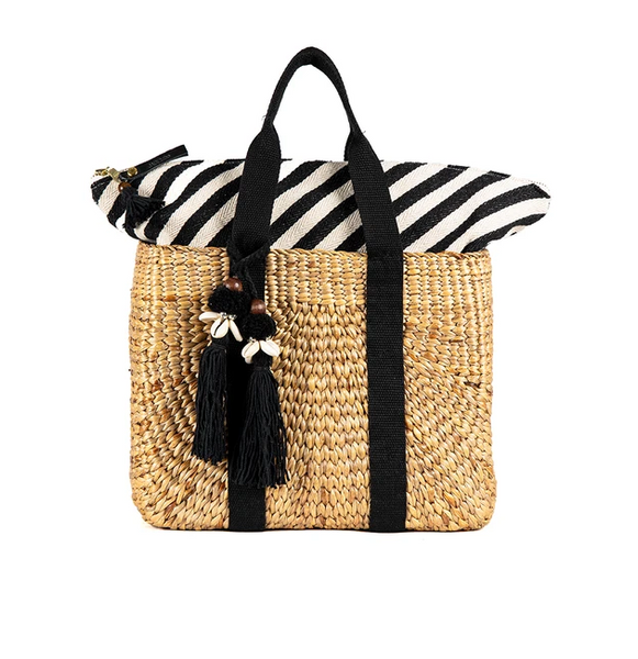 JADEtribe Valerie Square Basket Black / EQUATION Boutique