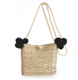 JADEtribe Shoulder Strap Mini Basket Poms / EQUATION Boutique