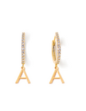 Tess + Tricia Initial Letter Higgie Earring / EQUATION Boutique