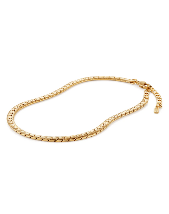 Jenny Bird Priya Snake Chain Anklet-Gold / EQUATION Boutique