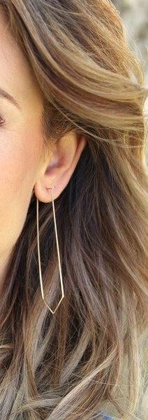 Jessica Matrasko Starr Earrings Gold / EQUATION Boutique