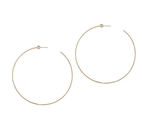 Jenny Bird Large Icon Hoop-Gold / EQUATION Boutique