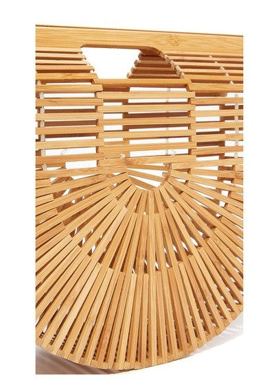 Bamboo Basket Bag / EQUATION Boutique