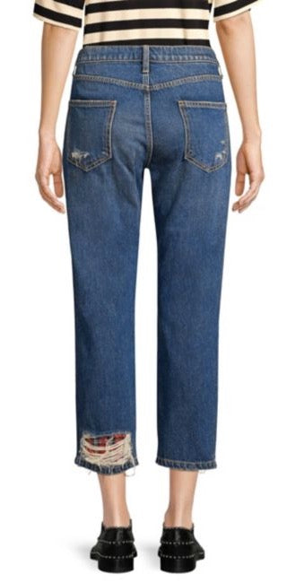 Current/Elliott Repaired Fling Jeans / EQUATION Boutique