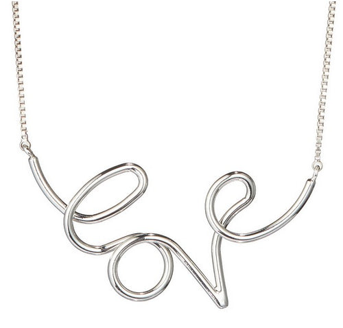 Jenny Bird Love Necklace-Silver / EQUATION Boutique