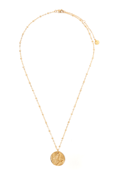 Tess+ Tricia Lavender Charm necklace / EQUATION Boutique