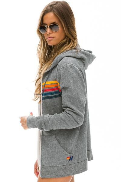 Aviator Nation 5-Stripe Hoodie / EQUATION Boutique