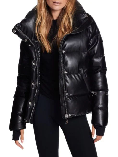 Sam Faux Leather Isabel Jacket