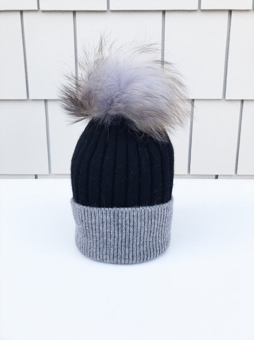 Equation Milla Hat in Black/Gray / EQUATION Boutique