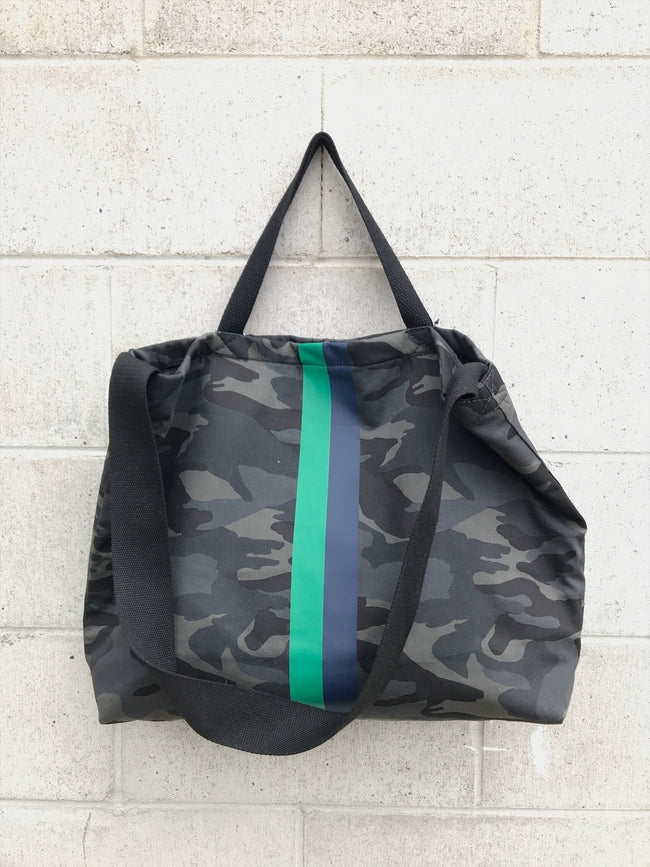ToteM Large Camo Tote Bag / EQUATION Boutique