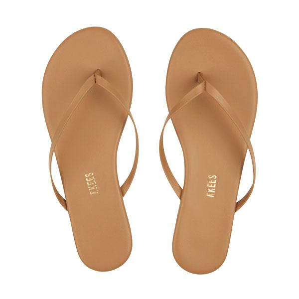 TKEES Nude Flip Flops (Cocobutter) / EQUATION Boutique