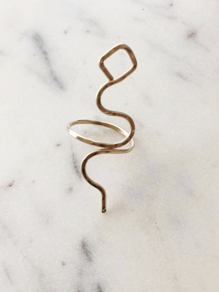 Jessica Matrasko Paula Snake Ring / EQUATION Boutique