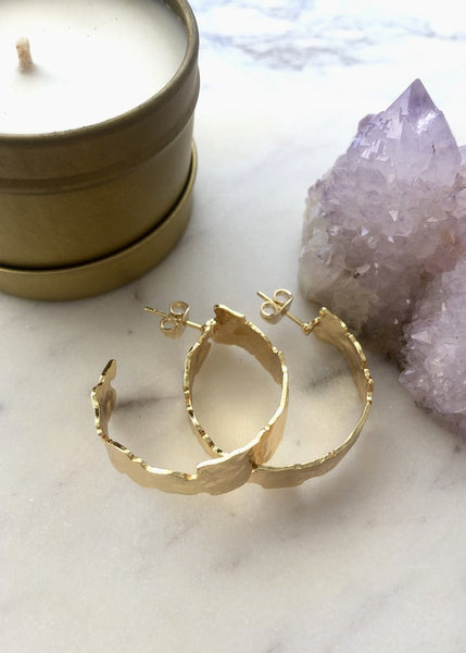 Jessica Matrasko Salt Hoops / EQUATION Boutique