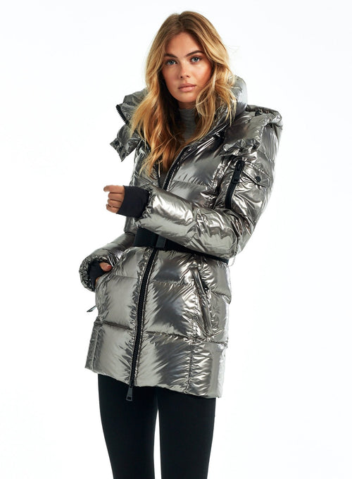 SAM NYC Soho Jacket in Gunmetal / EQUATION Boutique