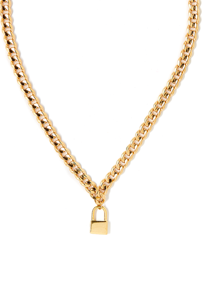 Tess+ Tricia Lock Necklace / EQUATION Boutique