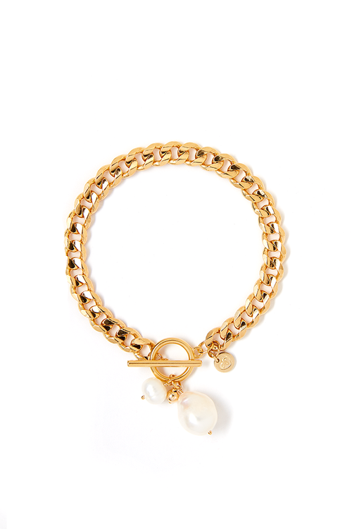 Tess+ Tricia Billie Pearl Bracelet / EQUATION Boutique