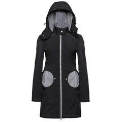 Liliputi Mama Coat - Black and Grey *IN STOCK*