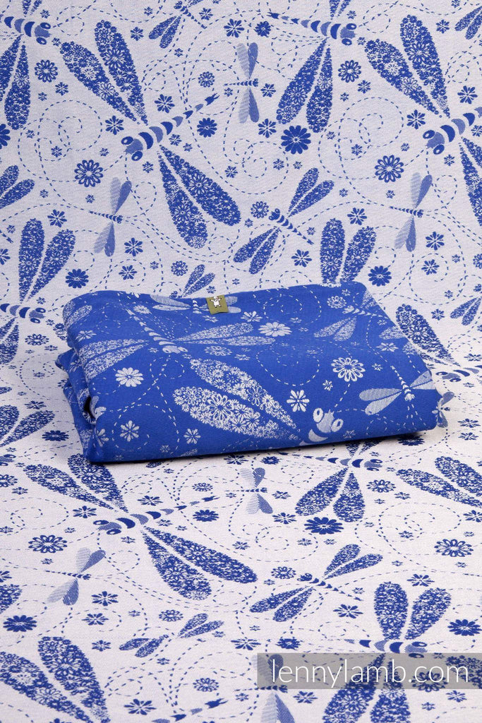 LennyLamb Dragonflies Blue/White Woven Wraps