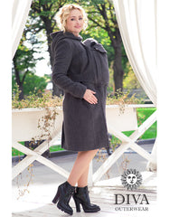 Diva Milano Wool Coat (3-in-1 High Warmth) Front Carries Only
