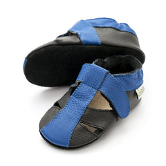 Liliputi Soft Sole Sandals: Atacama Black