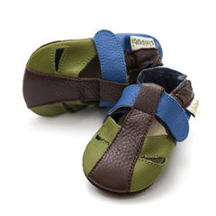 Liliputi Soft Sole Sandals: Atacama Earth