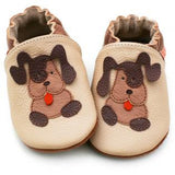 Liliputi Soft Sole Shoes: Beige Doggies