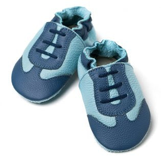 Liliputi Soft Sole Shoes: Blue Sport