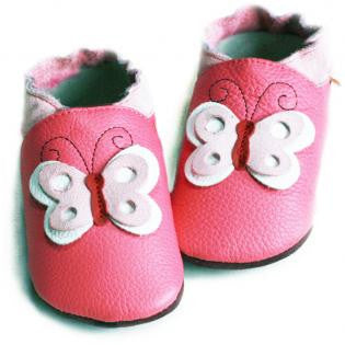 Liliputi Soft Sole Shoes: Butterfly