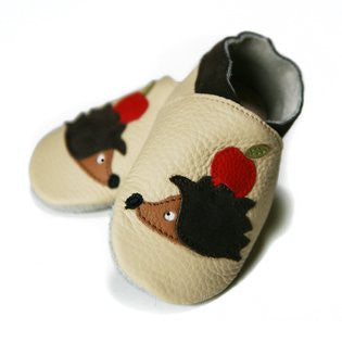 Liliputi Soft Sole Shoes: Hedgehog Friends