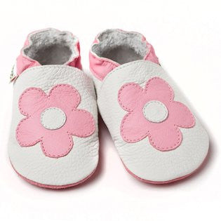 Liliputi Soft Sole Shoes: Pink Flowers