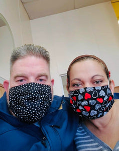 Reusable Face Mask Cover (Adult Size)