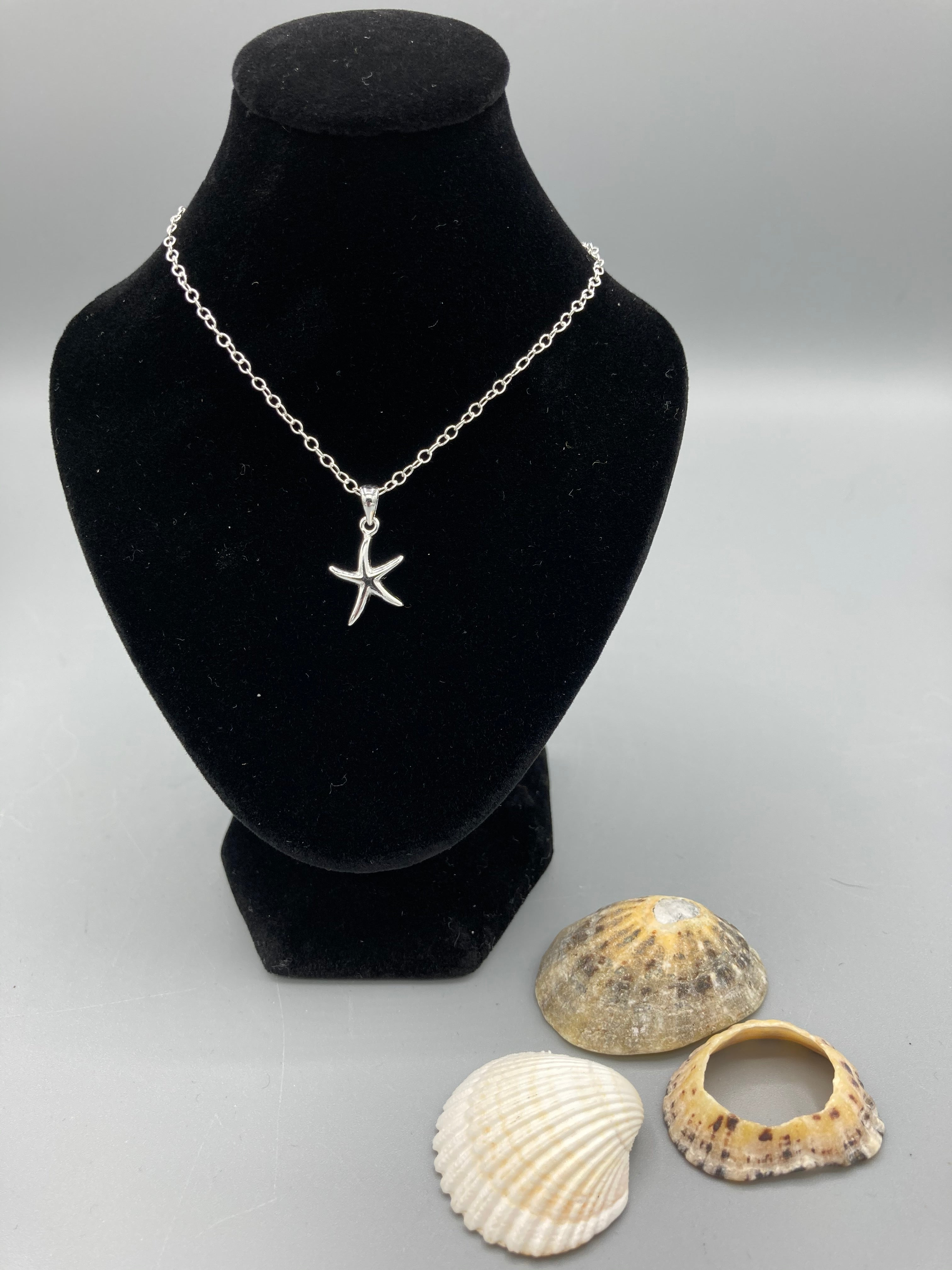 Sterling Silver Pendant. Starfish